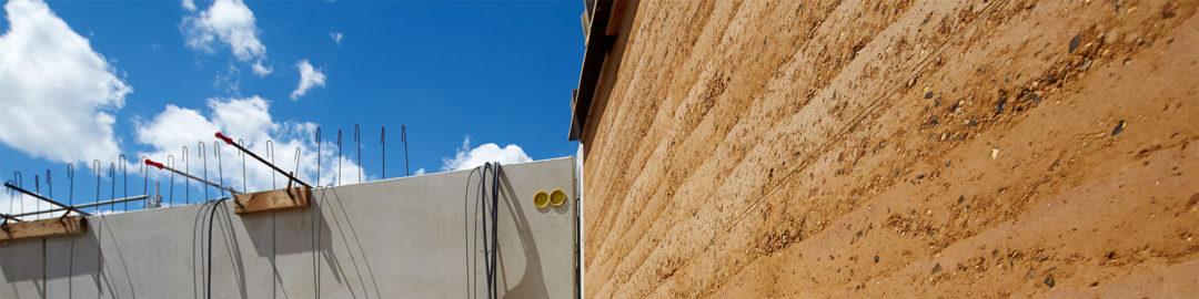 La TERRE CRUE utilisée dans la construction d'une école