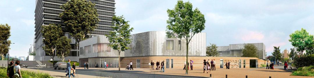Bientôt une école à énergie positive … avec des murs en terre!