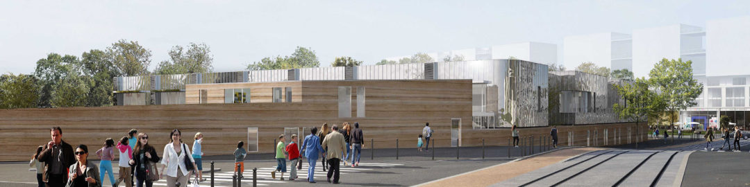 Innovation et architecture durable, une tradition pour la ville de Nanterre …